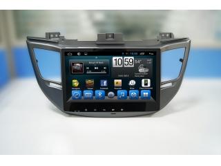 Штатная магнитола Carmedia KR-1080-S9 для Hyundai Tucson 2016-2018 c DSP процессором и 4G модемом, 8 ядер, 4/64 Гб на Android 8.1