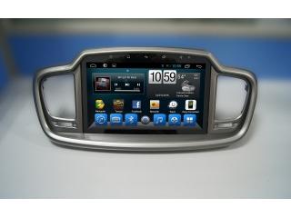 Штатная магнитола Carmedia KR-1082-S10 для Kia Sorento Prime с DSP процессором, 4G модемом и CarPlay на Android 10