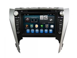 Штатная магнитола Carmedia KR-8010-S9 для Toyota Camry V50 c DSP процессором и 4G модемом, 8 ядер, 4/64 Гб на Android 8.1