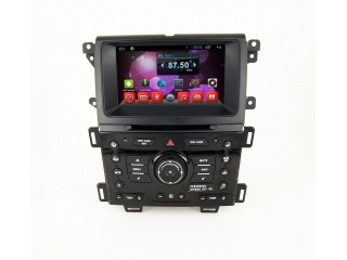Штатная магнитола Carmedia KR-8065-S9 для Ford Edge c DSP процессором и 4G модемом, 8 ядер, 4/64 Гб на Android 8.1