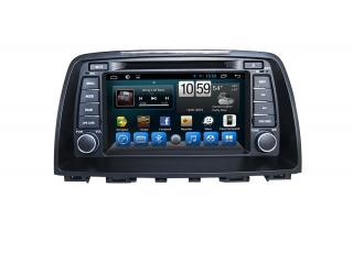 Штатная магнитола Carmedia KR-8074-S9 для Mazda 6 2012-2014 c DSP процессором и 4G модемом, 8 ядер, 4/64 Гб на Android 8.1