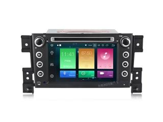 Штатная магнитола Carmedia MKD-7056-P5 для Suzuki Grand Vitara с DSP процессором на Android 10