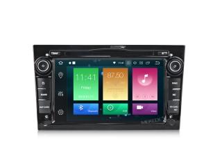 Штатная магнитола Carmedia MKD-7408-P30-b для Opel Astra, Vectra, Corsa, Antara, Vivaro, Meriva, Zafira Черная с DSP процессором на Android 9.0