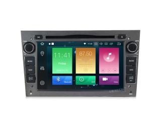 Штатная магнитола Carmedia MKD-7408-P6-g для Opel Astra, Vectra, Corsa, Antara, Vivaro, Meriva, Zafira Графит с DSP процессором на Android 9.0