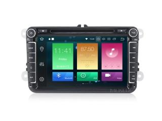 Штатная магнитола Carmedia MKD-8019-P6 для Volkswagen, Skoda, Seat с DSP процессором на Android 10