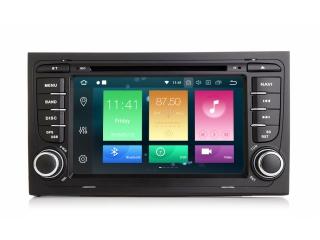 Штатная магнитола Carmedia MKD-A787-P5 для Audi A4, RS4, S4 с DSP процессором на Android 10