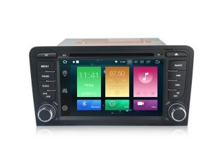 Штатная магнитола Carmedia MKD-A789-P6 для Audi A3, RS3, S3 с DSP процессором на Android 10