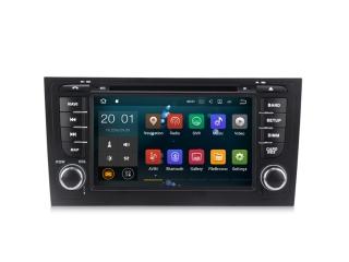 Штатная магнитола Carmedia MKD-A790-P30 для Audi A6 с DSP процессором на Android 10