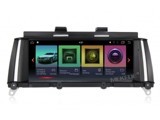 Штатная магнитола Carmedia MKD-B1015 для BMW X3 2011-2013 F25 (CIC) на Android 8.1