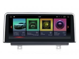Штатная магнитола Carmedia MKD-B1016 для BMW 3er F30,F31,F34,F35,F80 NBT и BMW 4er F32,F33,F36,F84 NBT на Android 8.1