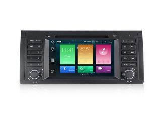 Штатная магнитола Carmedia MKD-B739-P5 для X5 E53, 5er E39, 7er E38 с DSP процессором на Android 10