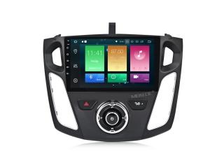 Штатная магнитола Carmedia MKD-F101-P6 для Ford Focus 3 2011+ с DSP процессором на Android 9.0