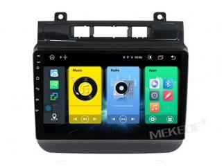 Штатная магнитола Carmedia MKD-F43-S10 для Volkswagen Touareg 2011-2018 с DSP процессором и 4G модемом на Android 10