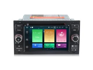 Штатная магнитола Carmedia MKD-F745B-P5 для Ford Focus 2, Transit, C-Max, Fusion с DSP процессором на Android 10