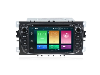 Штатная магнитола Carmedia MKD-F746B-P5 для Ford Focus 2, Mondeo, S-MAX, Galaxy, Tourneo, Transit с DSP процессором на Android 9.0