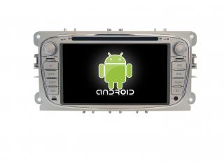 Штатная магнитола Carmedia MKD-F746S-P30 для Ford Focus 2, Mondeo, S-Max (овальная) с DSP процессором на Android 10