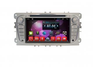 Штатная магнитола Carmedia MKD-F746S-P5 для Ford Focus 2, Mondeo, S-Max (овальная) с DSP процессором на Android 10