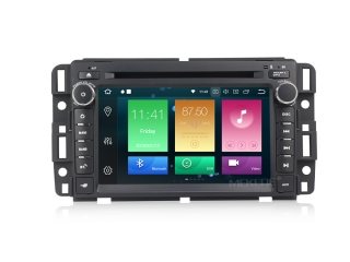 Штатная магнитола Carmedia MKD-G727-P5 для Chevrolet Tahoe, Hummer H2 с DSP процессором на Android 10