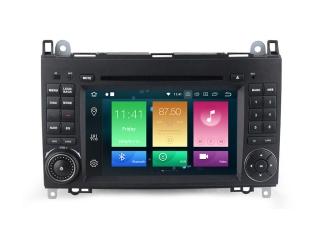 Штатная магнитола Carmedia MKD-M787-P5 для Mercedes Benz Sprinter, Viano, Vito и VW Crafter с DSP процессором на Android 9.0