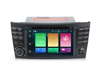 Штатная магнитола Carmedia MKD-M788-P30 для Mercedes Benz E-class W211, CLS-class W219 с DSP процессором на Android 9.0