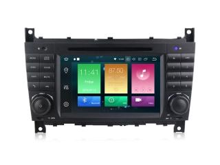 Штатная магнитола Carmedia MKD-M790-P6 для Mercedes Benz G W463, C-класс W203, CLK, CLC, SLK с DSP процессором на Android 10