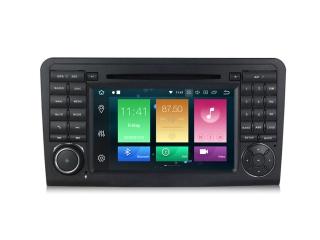 Штатная магнитола Carmedia MKD-M792-P6 для Mercedes Benz ML W164, GL X164 с DSP процессором на Android 9.0