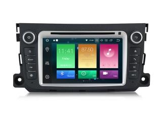 Штатная магнитола Carmedia MKD-M794-P6 для Smart ForTwo, ForFour 2011-2014 с DSP процессором на Android 10