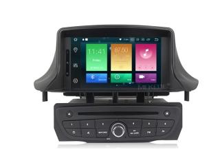 Штатная магнитола Carmedia MKD-R709-P6 для Renault Megane III 2009+, Fluence 2010+ с DSP процессором на Android 10