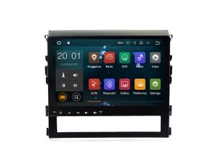 Штатная магнитола Carmedia MKD-T125-P30 для Toyota Land Cruiser 200 2016+ с DSP процессором на Android 10