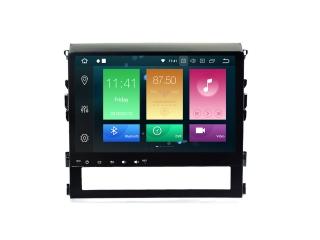 Штатная магнитола Carmedia MKD-T125-P5 для Toyota Land Cruiser 200 2016+ с DSP процессором на Android 10