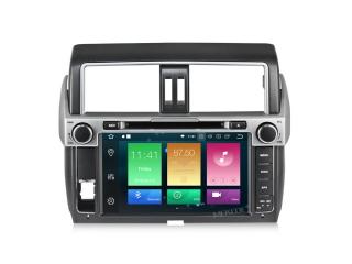 Штатная магнитола Carmedia MKD-T920-P6 для Toyota Land Cruiser Prado 150 2013-2016 с DSP процессором на Android 10