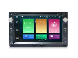 Штатная магнитола Carmedia MKD-V732b-P6 для VW, Skoda, Seat с DSP процессором на Android 10