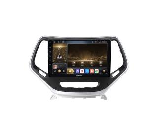 Штатная магнитола Carmedia OL-1253 для Jeep Cherokee 2014+ с DSP процессором и CarPlay на Android 10