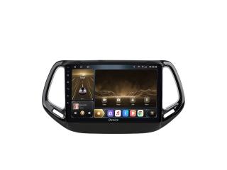 Штатная магнитола Carmedia OL-1255 для Jeep Compass 2017+ с DSP процессором и CarPlay на Android 10