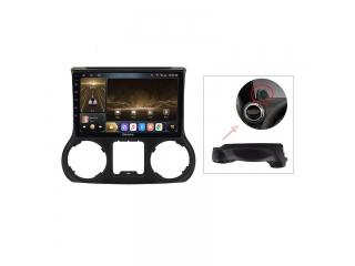 Штатная магнитола Carmedia OL-1258-1 для Jeep Wrangler 2010-2015 с DSP процессором и CarPlay на Android 10