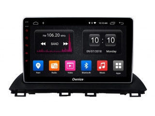 Штатная магнитола Carmedia OL-1502 для Mazda 3 2013+ c DSP процессором с CarPlay на Android 10