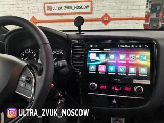 Штатная магнитола Carmedia OL-1573 для Mitsubishi Outlander 2020-2021 на Android 10