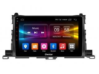 Штатная магнитола Carmedia OL-1601 для Toyota Highlander 2014+ c DSP процессором с CarPlay на Android 10