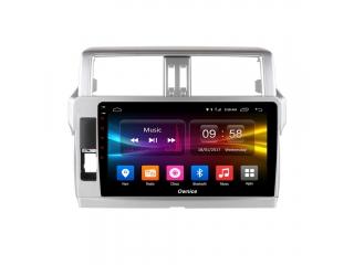Штатная магнитола Carmedia OL-1614 для Toyota LC Prado 150 2014-2016 с DSP процессором и CarPlay на Android 10
