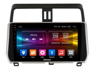 Штатная магнитола Carmedia OL-1680 для Toyota Land Cruiser Prado 150 2017+ c DSP процессором с CarPlay на Android 10