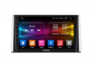 Штатная магнитола Carmedia OL-1684 для Toyota RAV4 2019+ с DSP процессором и CarPlay на Android 10