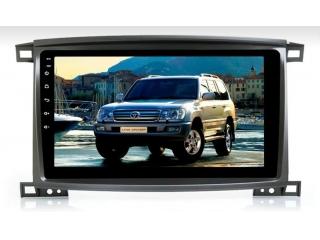 Штатная магнитола Carmedia OL-1698 для Toyota Land Cruiser 100 c DSP процессором с CarPlay на Android 10