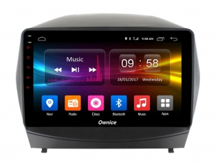 Штатная магнитола Carmedia OL-1702 для Hyundai ix35 2009-2015 c DSP процессором с CarPlay на Android 10