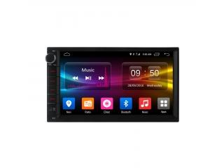 Штатная магнитола Carmedia OL-7002-S9 2DIN Универсальная и для Nissan с DSP процессором и 4G модемом на Android 8.1