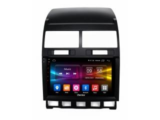 Штатная магнитола Carmedia OL-9106 для Volkswagen Touareg 2002-2010 с DSP процессором и CarPlay на Android 10
