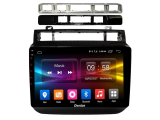 Штатная магнитола Carmedia OL-9107 для Volkswagen Touareg 2011-2018 с DSP процессором и CarPlay на Android 10