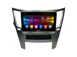 Штатная магнитола Carmedia OL-9514 для Subaru Legacy, Outback 2009-2014 с DSP процессором и CarPlay на Android 10