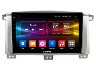Штатная магнитола Carmedia OL-9681 для Toyota Land Cruiser 100 c DSP процессором с CarPlay на Android 10