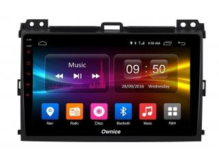 Штатная магнитола Carmedia OL-9696 для Toyota Land Cruiser Prado 120 c DSP процессором с CarPlay на Android 10