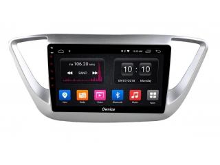Штатная магнитола Carmedia OL-9710 для Hyundai Solaris 2017+ с DSP процессором с CarPlay на Android 10